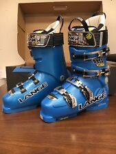 2012 Lange RS 130 Ski Boots-Blue 25.5