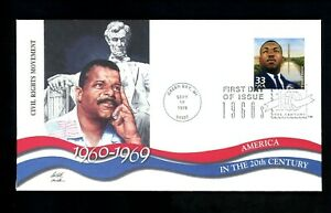 US FDC #3188a Fleetwood CTC Green Bay, WI Martin Luther King JR. 9/17/1999