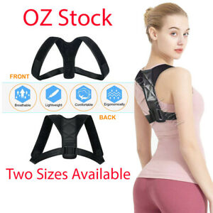 Posture Corrector Back Straight Clavicle Support Shoulders Brace Strap Correct
