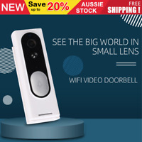 Wireless Doorbell Intercom Camera Video Wifi Smart Door Bell Chime Waterproof AU