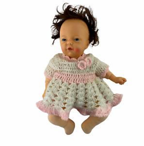 Vintage 1979 Mattel Love N Touch Bare Bottom Baby Doll Brunette Blue Eyes
