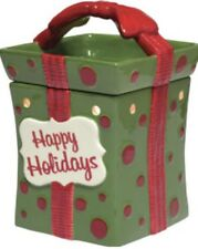 Scentsy ~ Christmas ~ All Wrapped Up Full Size Warmer ~ New In Box ~ Free Scent