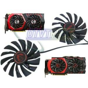 For MSI heat pipe cooling fan For Red Dragon GTX960 graphics card fan