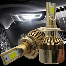 2x Upgrade H7 COB CREE 110W LED Car Headlight 20000LM Bulbs 6000K Conversion Kit