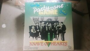 TSR Boardgame Party Zone - Knave of Hearts Box VG
