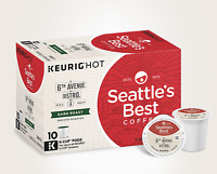 CASE OF 60 K-CUPS PODS Seattle's Best Coffee 6th Avenue Bistro Dark Roast