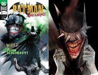Batman Who Laughs # 2 A & B JOCK/Oliver Cover Variant Set NM or better DC Comics