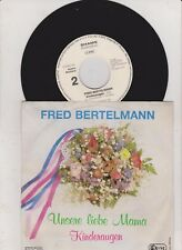 Fred Bertelmann- unsere liebe Mama  Single Rarität !!