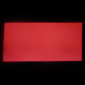 2 x 200 x 100mm EL-Folie  Leuchtfolie Plasmafolie für Tachoscheiben Farbe: rot