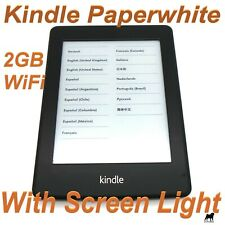 Amazon Kindle Paperwhite 2 (6th Generation) 2GB, Wi-Fi, 6in E-Reader - LOCKED