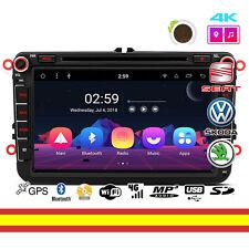 "Radio CD Android 8.1 PR88MTV Volkswagen Seat Skoda 8"" GPS WIFI Soporta 4g OBD2"