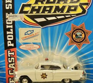 Montana State Police Vintage 1955 CHEVY BEL AIR 1:43 SCALE MIP !