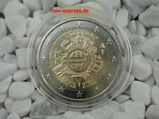 *** 2 Euro Gedenkmünze NIEDERLANDE 2012 10 Jahre Bargeld Netherlands Münze KMS