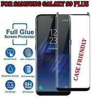 100% Full Glue Tempered Glass Screen Protector Cover for Samsung Galaxy S9 Plus