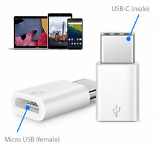 Micro USB to USB C Adapter Converter for Samsung S8 S9 Sony XZ2 HTC U11 LG G6