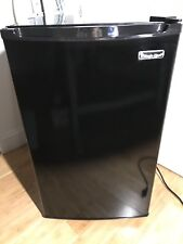 Magic Chef 4.4 Cu. Ft. Refrigerator with Full-Width Freezer Compartment in Black