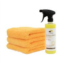 CARCAREZ Car Marine Auto Liquid Spray & Wipe Polish Wax 16 oz spray Application