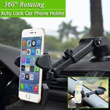 2X Universal 360° Soporte para Coche Montaje en Salpicadero Parabrisas GPS Pda