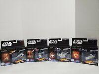 Hot Wheels Star Wars Build A Death Star Commemorative Series Starships 1-4