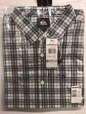 Quiksilver Men's Every Day Check Button-up  Short Sleeve Shirt EQYWT03269