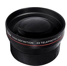 2x Tele Converter Lens Nikon 52MM Lense Thread Digital SLR Cameras