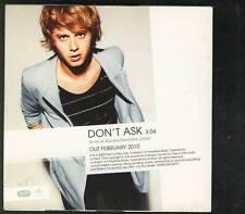 WOUTER HAMEL Don't Ask 1 tr PROMO CD SINGLE