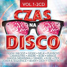 = CZAS na DISCO POLO vol.1 [2 CD] /Sealed from Poland // disco polo & dance