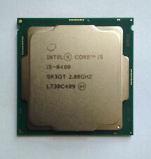 Intel Core i5-8400 CPU 2.8GHz LGA 1151 SR3QT 6-Core 6-Thread 9M Cach 65W HD 630