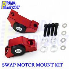 SWAP TORQUE MOTOR MOUNT KIT FOR HONDA CIVIC INTEGRA EG EK B16 B18 B20 D16 D15 RD