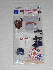 New in Package MLB Scrapbooking Sticker Set Boston Red Sox