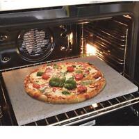 Pietra lavica refrattaria dell'Etna teglia da forno pizza pane 40x35x2 piastra .