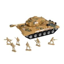 Combat Mission Army Tank & Soldiers Friction Power for 3 to 7 Years Old