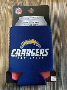 Brand New San Diego Chargers Premium Blue Beer/Soda Can/Bottle Koozie Cooler