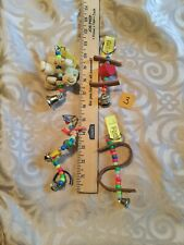 Lot Of 4- Small Bird Toys