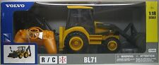 NEW-RAY R/C Radio Control - VOLVO BL71 BACKHOE WHEEL LOADER - 1:18 Scale