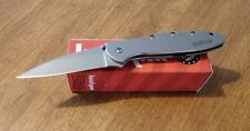 KERSHAW New Ken Onion Design Leek Plain Edge Blade Knife/Knives