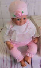 LEE MIDDLETON BABY DOLL NEWBORN FIRST MOMENTS BABY SWEET BROWN HAIR PRECIOUS