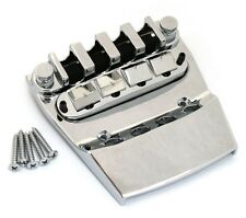NEW for Rickenbacker Bass BRIDGE & TAILPIECE Bass Guitar Parts Chrome