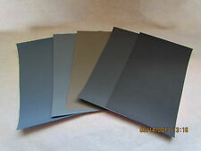 Sandpaper Combo Pak 1000/1500/2000/2500/3000 Grit 4.5