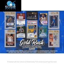 Dallas Mavericks! 2020 Gold Rush Premier Basketball Players Full Case 6x Break