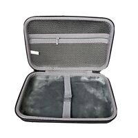 "c02Crea Zippered Hard Waterproof Case Crush Resistant 10""x6"""