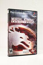 Sony PlayStation MORTAL KOMBAT ARMAGEDDON (PS2, 2006) Midway