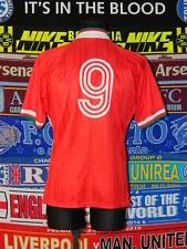 4.5/5 Liverpool adults M 1993 #9 rare retro football shirt jersey trikot