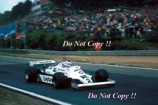 CARLOS REUTEMANN Williams FW07C vincitore BELGA GRAND PRIX 1981 fotografia 2