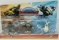 SKYLANDERS SUPERCHARGERS COMBO PACK SHARK TANK SHOOTER TERRAFIN JET STREAM NEW!