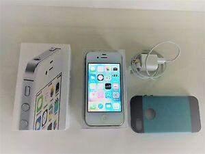 Iphone 4s, White, 8GB, free case
