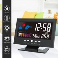 Display LCD per l'orologio digitale con termometro digitale