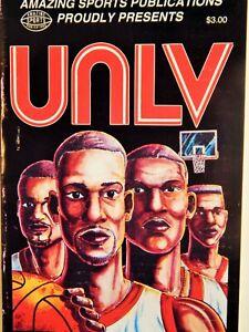 UNLV BASKETBALL 1991 VERY RARE COMIC BOOK JERRY TARKANIAN LEGENDARY COACH