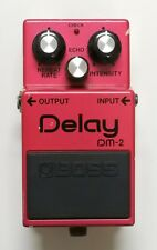 BOSS DM-2 Delay Vintage Guitar Effects Pedal MIJ 1983 Later Model #17 F/S