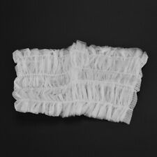 20PCS Disposable Hair Bands Elastic Headbands Non-woven Eyelashes Salons G4D1